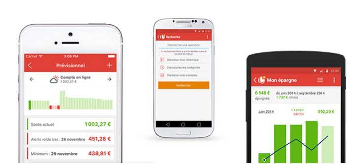 Linxo, application Linxo, application bancaire