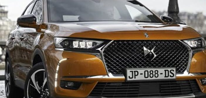 consommation, PSA, DS7 Crossback