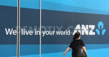 La banque ANZ à Paris