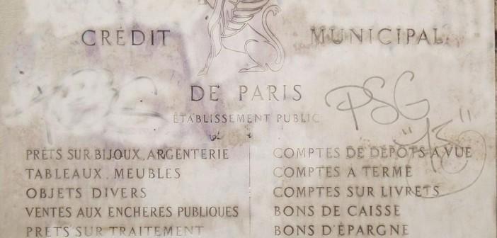 Ma tante, le Crédit Municipal de Paris