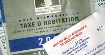 taxe foncière et d'taxe d'habitation