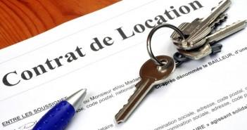 contrat type de location en vigueur le 1er août