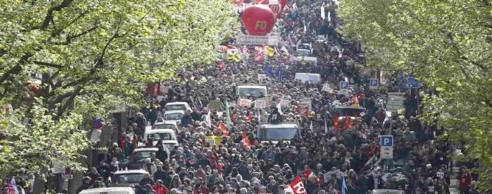 Manifestation 1er Mai loi travail
